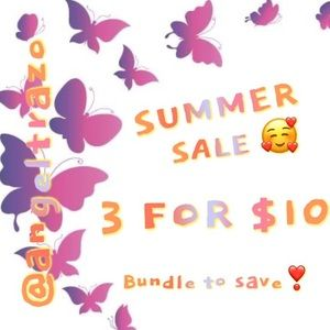 3 FOR $10 🥰 SUMMER SALE